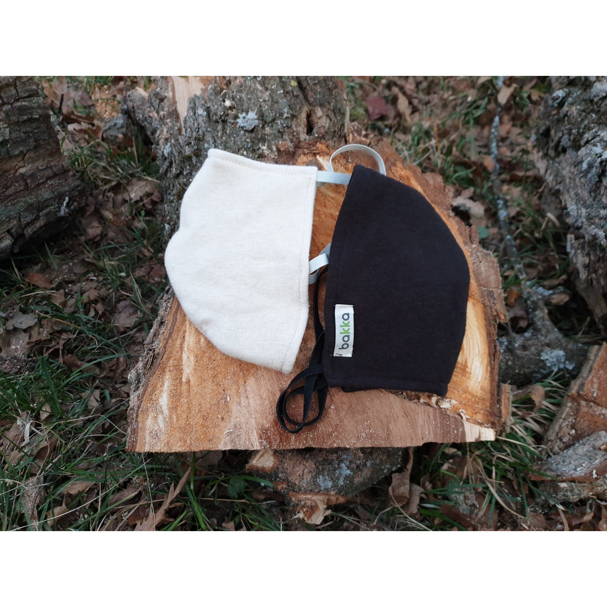 Защитна маска от коноп – Трислойна, черна