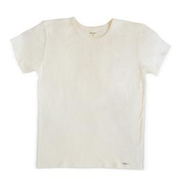 Конопена мъжка бяла тениска