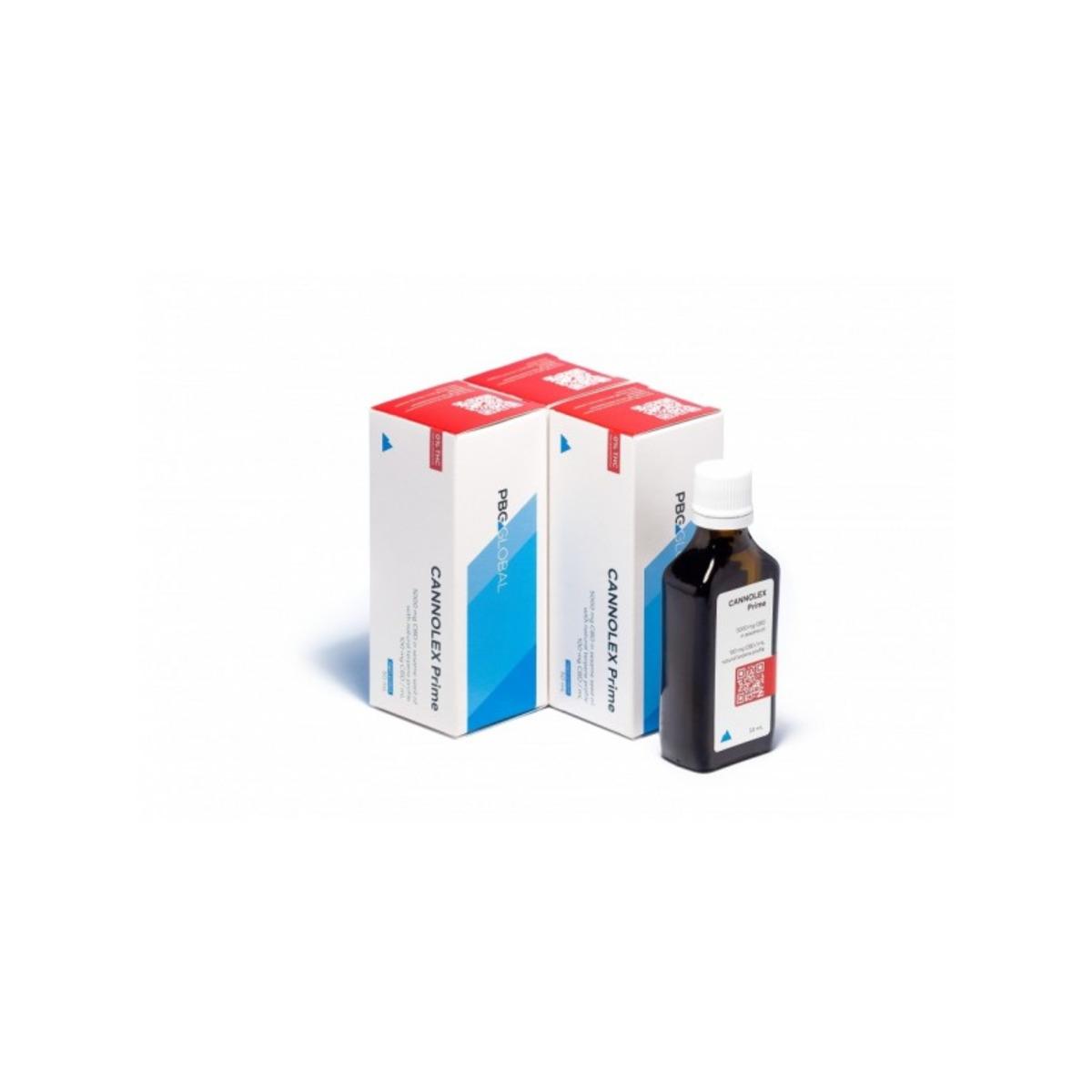 CANNOLEX Prime 5000мг. CBD масло