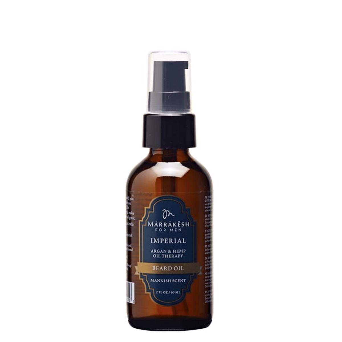 Олио за брада Marrakesh Men`s Imperial Beard Oil, 59 мл