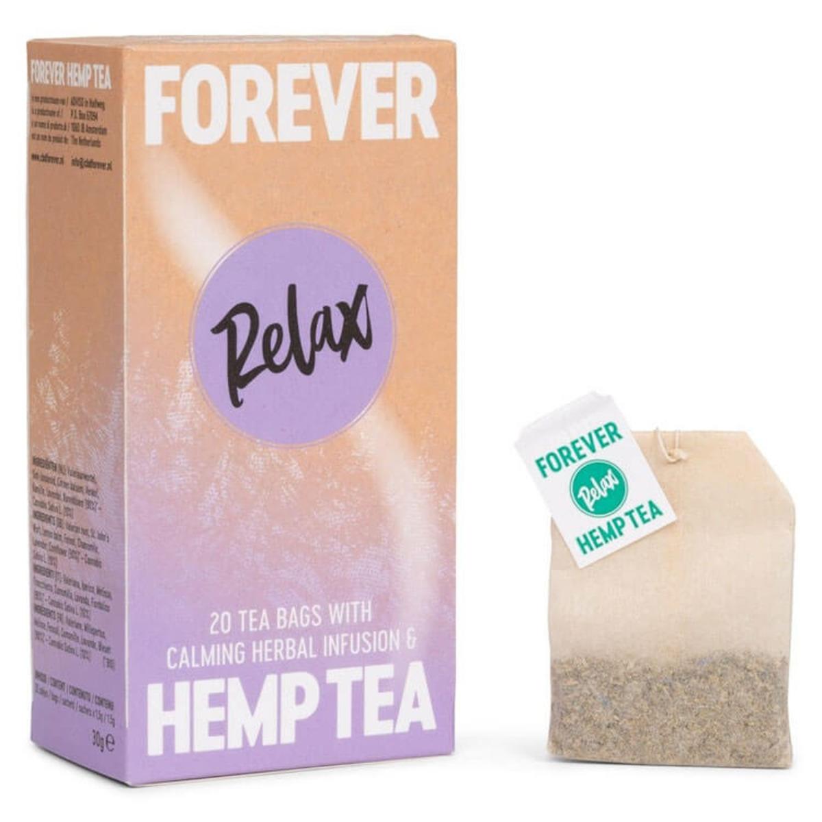 Чай от коноп Forever Hemp Relax, 20 бр